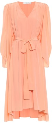 Givenchy Crepe de chine silk midi dress
