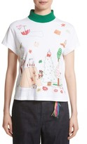 Mira Mikati Women's Adventure Print High Neck Tee