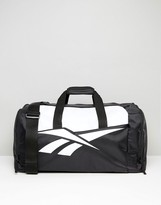 Reebok Retro Holdall In Black Bj9109