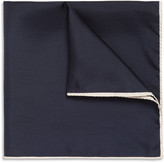 Drakes Drake's Silk-Twill Pocket Square