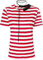 Marni striped tie T-shirt
