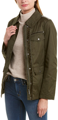 Sam Edelman Short Waxed Field Jacket