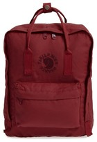 Fjäll Räven 'Re-Kanken' Water Resistant Backpack - Blue