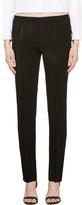Calvin Klein Collection Black Satin Ufordyce Irise Enver Pants