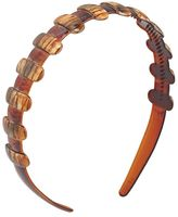 DCNL Hair Accessories Brushed 1 Inch Tortoise Headband