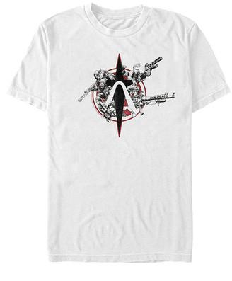 Fifth Sun Tee Shirts WHITE - Borderlands White Crimson Raider Tee - Adult