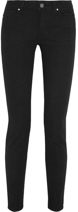 Paige Verdugo stretch-jacquard mid-rise skinny jeans