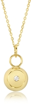 Aurelie Bidermann Telemaque 18K Yellow Gold and Diamond Bell Charm