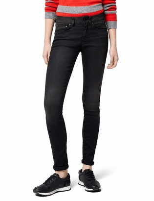 G Star Women's 3301 Contour High Rise Skinny Jean in Dark Aged