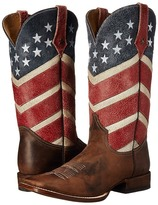 Roper American Flag Round Toe Boot
