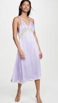 Jonathan Simkhai Kendra Sandwashed Charmeuse Dress