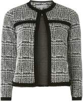 Dorothy Perkins Petite Monochrome Checked Jacket