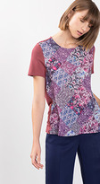 Esprit OUTLET multi pattern print t-shirt