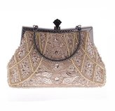Abless Evening Bag Abless Womens Glamour Elegant Evening Clutch Fashion Purse Chain Handbag - SK763