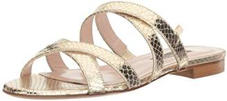 Sarah Jessica Parker Women's Weekend Multi Cross Strap Slide Sandal