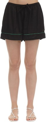 Underprotection Lisa Satin Pajama Shorts