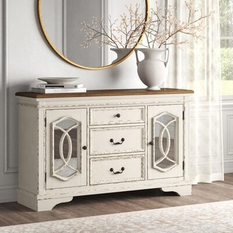 Kelly Clarkson Home Sara Dining Room Server 59'' Wide 3 Drawer Sideboard