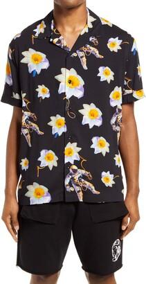 Billionaire Boys Club Dream Space Short Sleeve Button-Up Camp Shirt