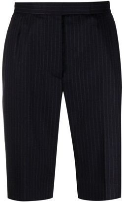 Thom Browne Pinstriped Tailored Shorts