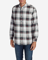 Eddie Bauer Men's Eddie's Favorite Flannel Classic Fit Shirt - Plaid