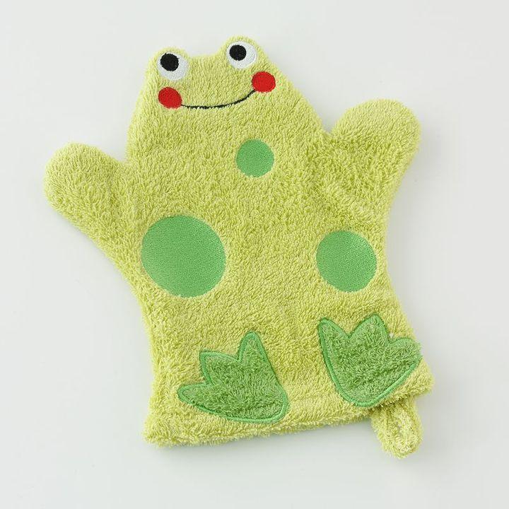Jumping beans® frog wash mitt