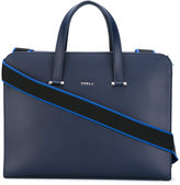 Furla shoulder strap briefcase - men - Leather - One Size