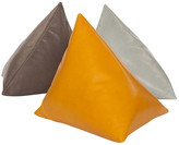 Moore & Giles Fine Leather Triangle Pillow