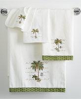 "Avanti Palm Garden 13"" x 13"" Washcloth"