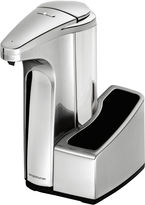 Simplehuman 13-oz. Sensor Pump Soap Dispenser with Caddy in Brushed Nickel