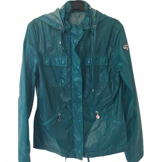 Gas Jeans Green Polyester Trench coats