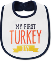 Carter's First Turkey Day Cotton Thanksgiving Bib, Baby Boys & Girls (0-24 months)