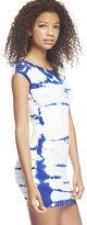 Arden B Tie-Dye Bodycon Mini Dress