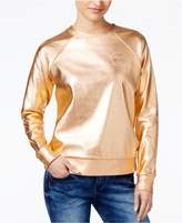 Polly and Esther Juniors' Metallic Foil Sweatshirt