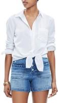 Madewell Women's Tie Front Shirt