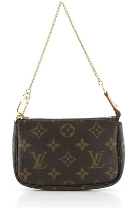Louis Vuitton Pochette Accessoires Monogram Canvas Mini
