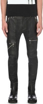 Diesel P-grundy leather trousers