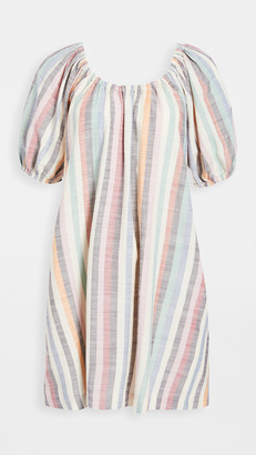 Madewell Puff Sleeve Mini Dress
