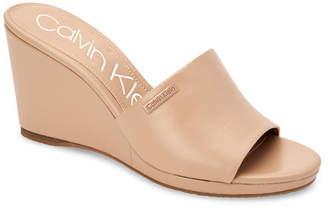 Calvin Klein Britta Wedge Sandals, Women Shoes