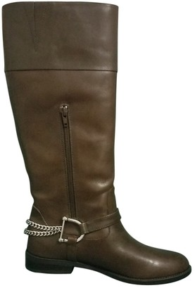 Ralph Lauren \N Brown Leather Ankle boots