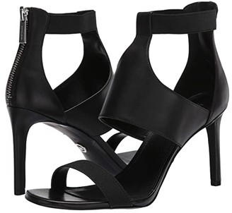 MICHAEL Michael Kors Dominique Sandal (Black) Women's Shoes