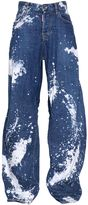 DSQUARED2 Tie & Dye Jazz Cotton Denim Jeans