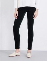 Rag & Bone Skinny mid-rise velvet jeans