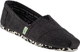 Toms Earthwise Classic Washed Black Fabric