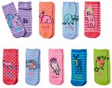 Pink Cookie Girls 9-pk. Critter Low-Cut Socks