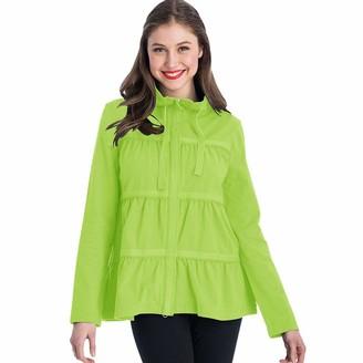 Neon Buddha Women's Plus Size Sassy Ruffle