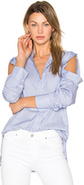 BCBGMAXAZRIA Nishani Blouse in Blue. - size L (also in )