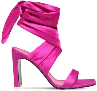ATTICO 105mm Satin Sandals