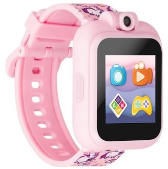 iTouch PlayZoom 2 Smartwatch with Camera and Learning Games, Wristwatches for Girls ages 4-7 (Pink Unicorn)