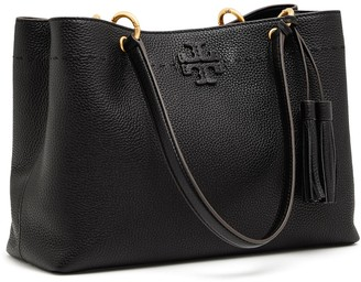 Tory Burch MCGRAW TRIPLE-COMPARTMENT RING TOTE