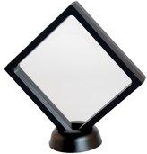 MagiDeal Transparent Jewelry Display Box Show Rack Packing Case Levitate Multipurpose